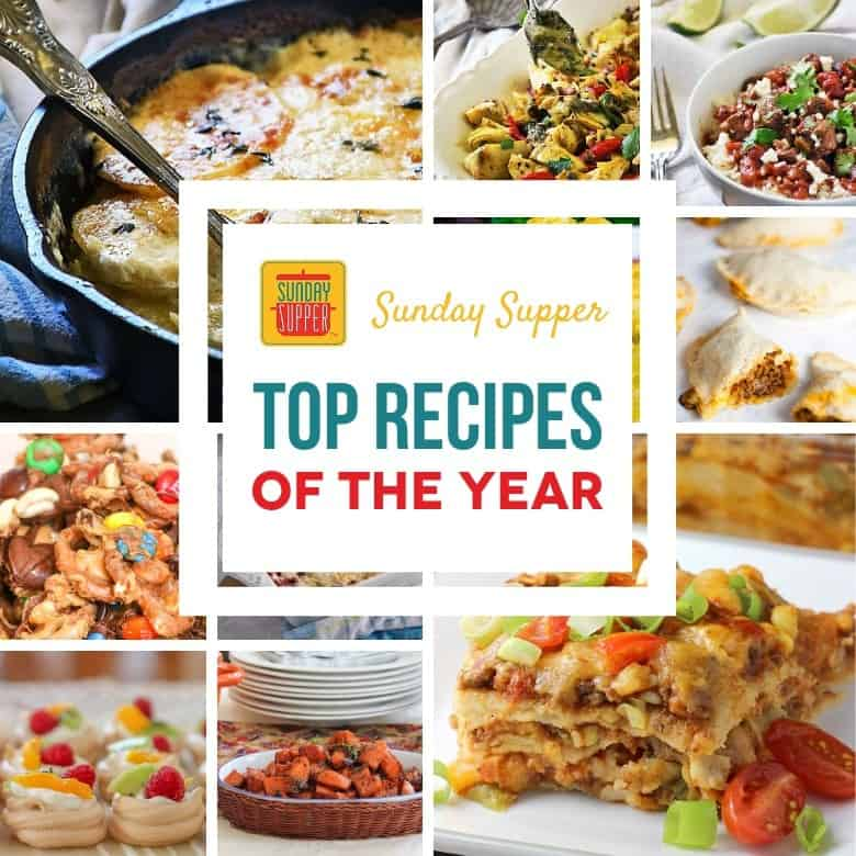 Top Recipes of the Year #SundaySupper