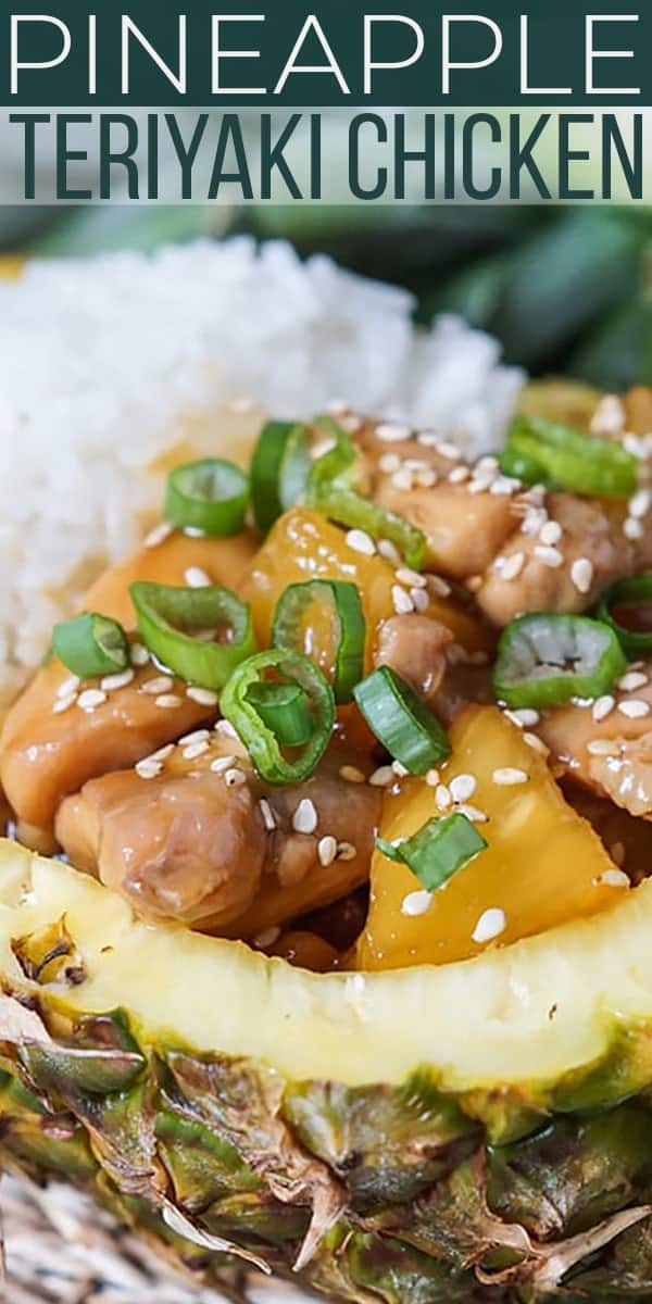 Save Pineapple Teriyaki Chicken on Pinterest