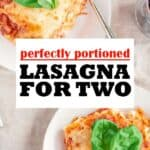 Lasagna for two pin image