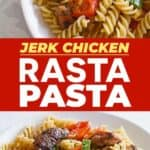 Save Rasta Pasta Recipe on Pinterest!