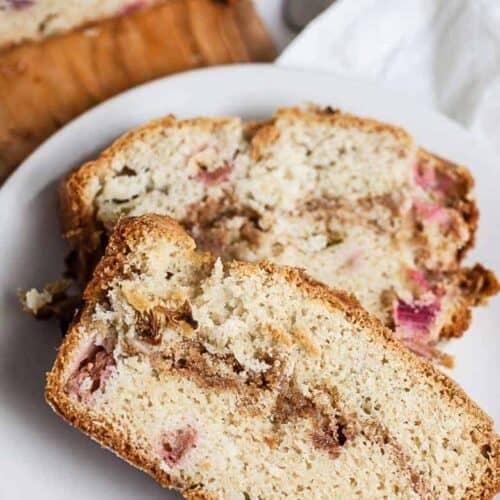 Rhubarb Bread #SundaySupper
