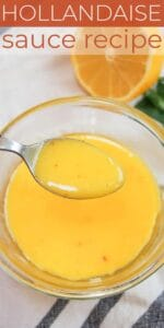 Save Easy Hollandaise Sauce on Pinterest