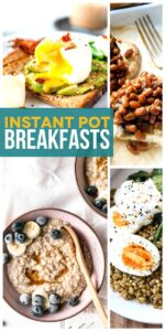 Save Instant Pot Breakfasts on Pinterest