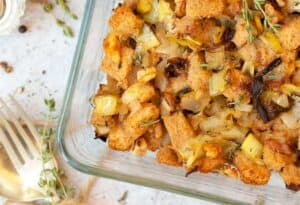 Side Dishes for Roast Beef: Gluten Free Stuffing