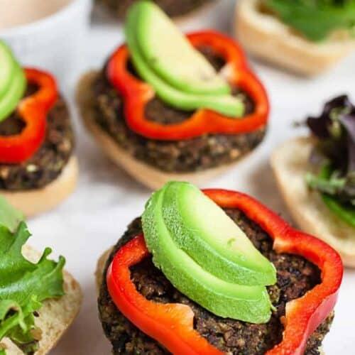 How To Make Veggie Burgers #SundaySupper