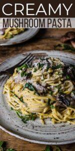 Save Creamy Mushroom Pasta on Pinterest