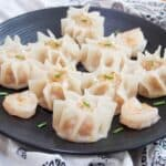 shrimp shumai on plate