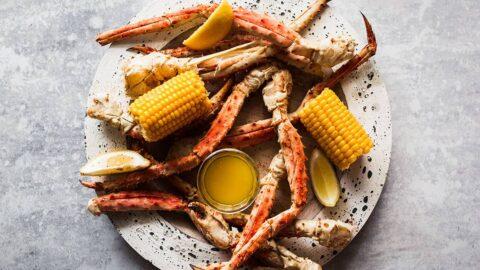 Steamed Crab Legs