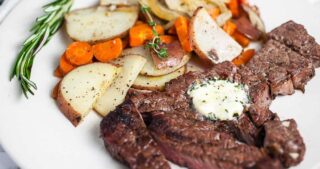 Grilled Chuck Steak