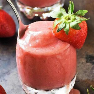 Strawberry Dole Whip No Bake Dessert