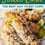 Mexican street corn recipe pin