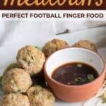Thai Chicken Meatballs Collage on Pinterest