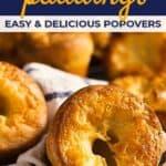 Yorkshire pudding recipe pin image