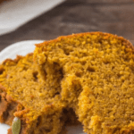 Starbucks pumpkin bread pin image