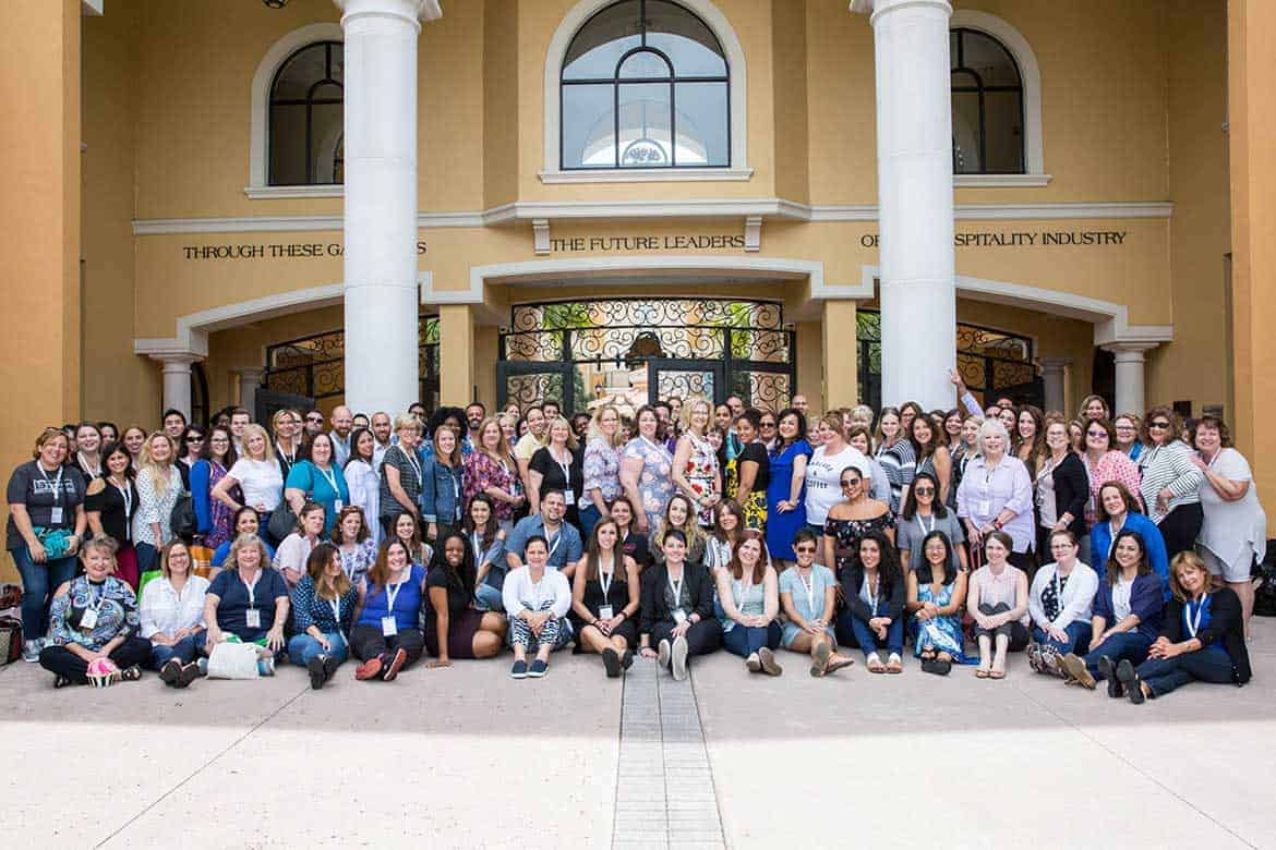 Group photo of Food Wine Conference 2017 Attendees
