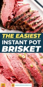 Save our Instant Pot Brisket on Pinterest!