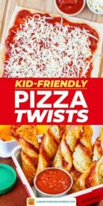 Save our Puff Pastry Twist Pizza on Pinterest!