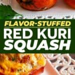 Save Red Kuri Squash on Pinterest for later!