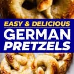 Pin our Soft Pretzels to save for later!