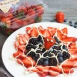 Save Spider-Man Web Berry Dessert on Pinterest!