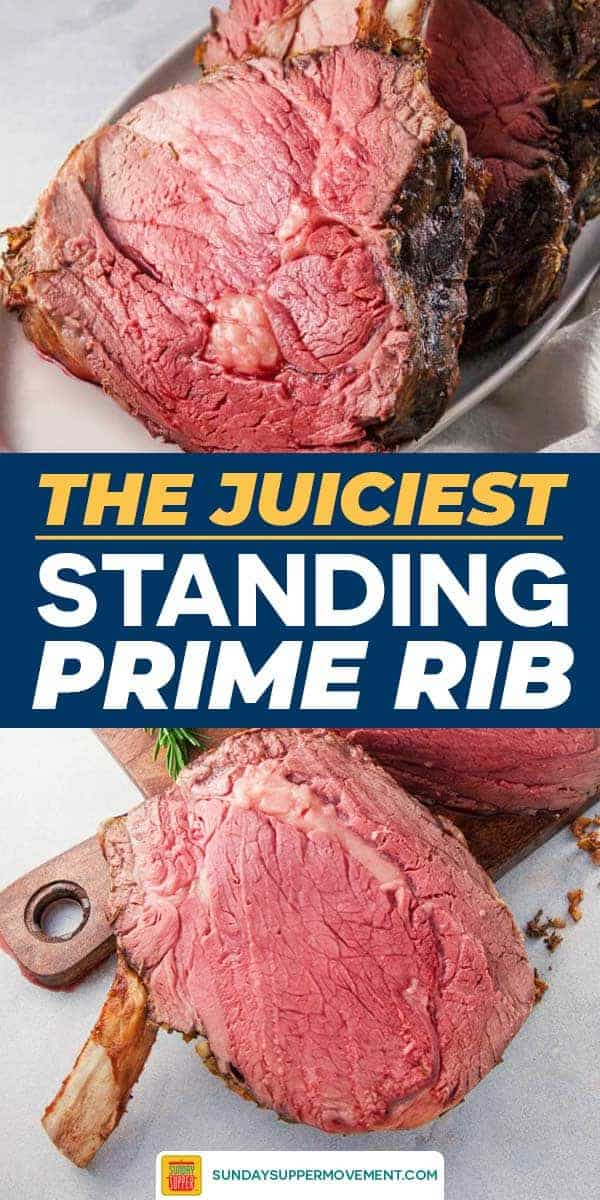 Save our Standing Prime Rib on Pinterest for later!