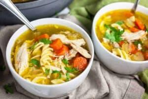 Chick-fil-A Chicken Noodle Soup (Copycat Recipe)