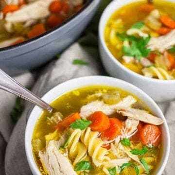 Chick-fil-A Chicken Noodle Soup (Copycat Recipe)