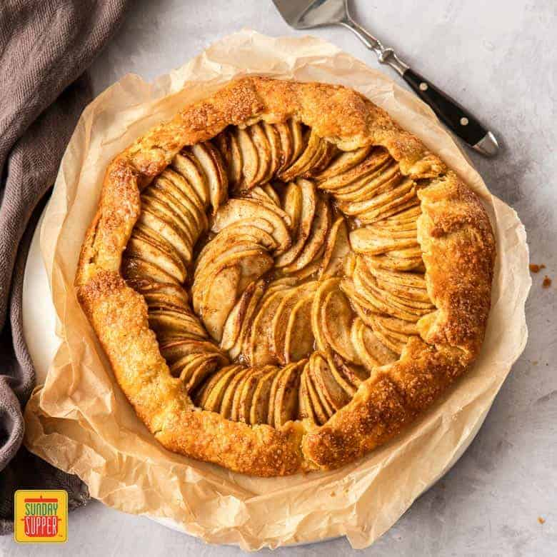 Apple Galette Recipe Apple Crostata Sunday Supper Movement