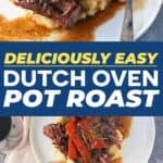 Save Dutch Oven Pot roast on Pinterest!