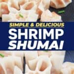 Save Shrimp Shumai on Pinterest for later!