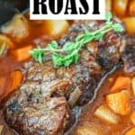 Slow Cooker Chuck Roast Pin Image
