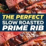 Save slow roasted prime rib for later!
