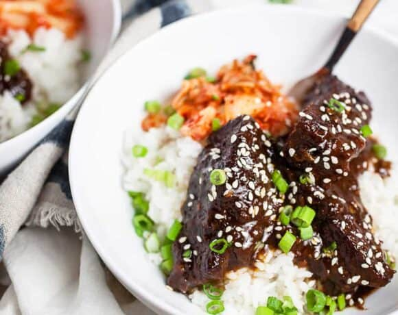 Korean Braised Short Ribs (Galbi Jjim)