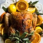 Thanksgiving turkey recipe pin