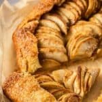 Apple Galette Recipe Pinterest Image