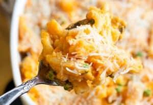 buffet menu ideas - sweet potato mac & cheese