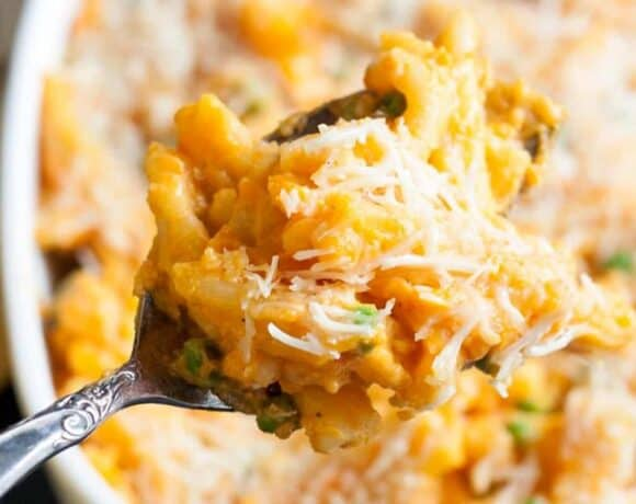 buffet menu ideas - sweet potato mac & cheese