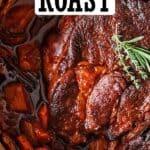 chuck roast recipes pin image