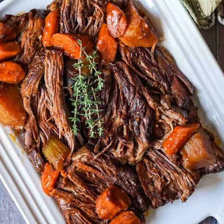 Sunday Dinner Ideas - beef chuck roast