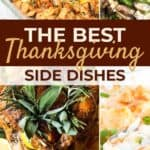 Thanksgiving side dishes pin image