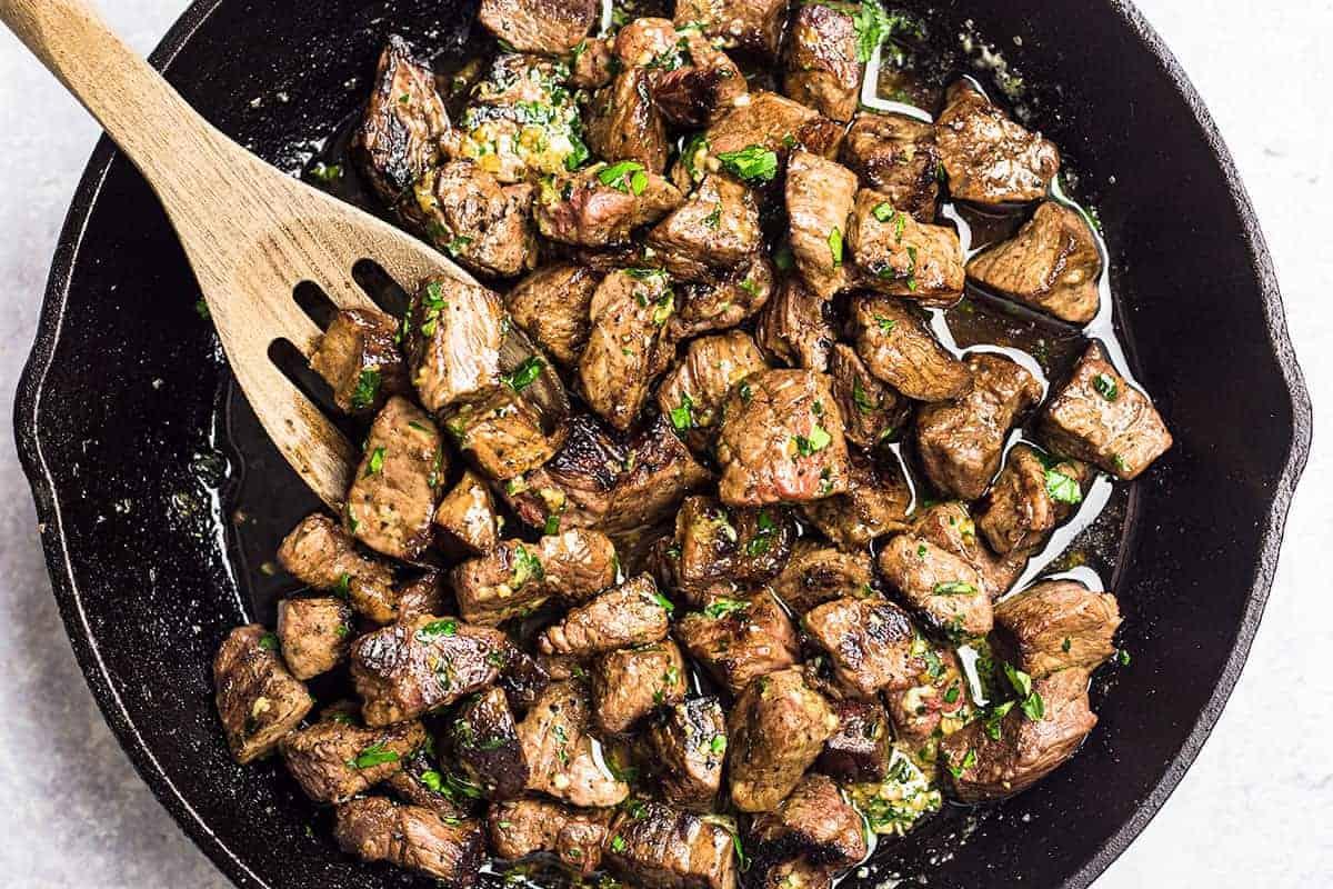 Juicy Garlic Butter Steak Bites Sunday Supper Movement