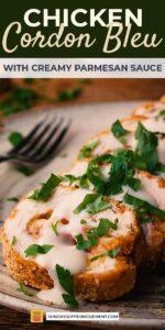 Chicken cordon bleu pin image