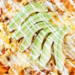 Chilaquiles Recipe pin image