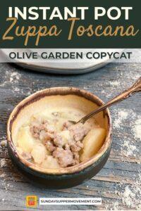 Zuppa Toscana Soup pin image