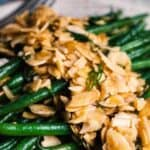 christmas side dishes pin image