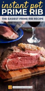 Save our Instant Pot Prime Rib on pinterest for later!