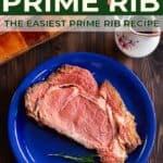 instant pot prime rib pin image