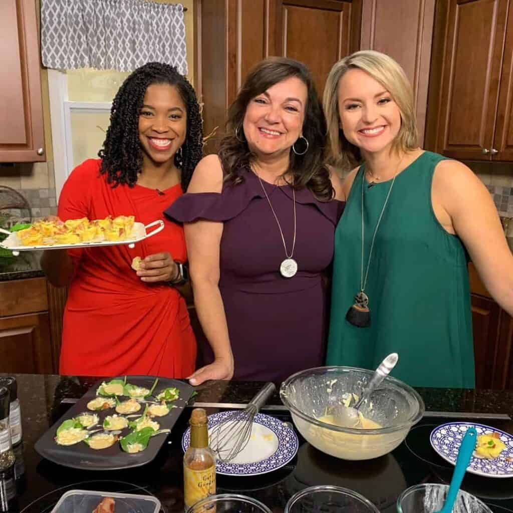 Isabel on set for Great Day Tampa Bay Live