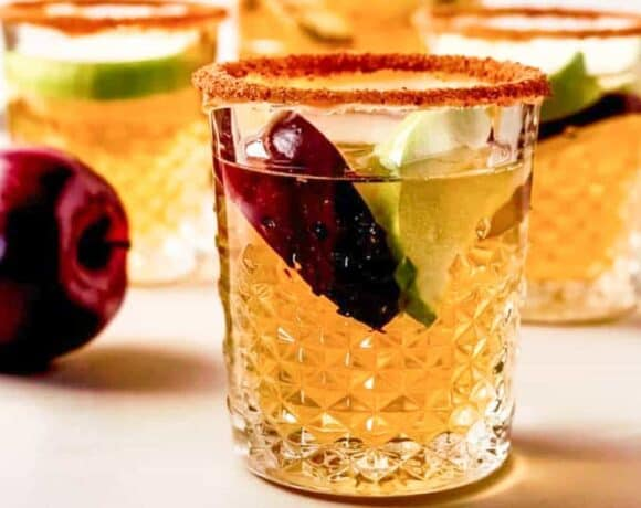 New Year's Eve Menu Ideas: Caramel Apple Sangria