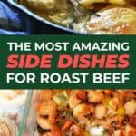 Roast beef side dishes pin image